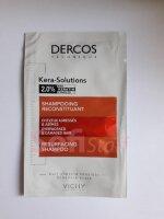 Пробник Dercos Кера-Солюшнз - шампунь з комплексом Про-Кератин для реконструкції поверхні пошкодженого ослабленого волосся