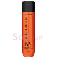 Mega Sleek Шампунь з маслом Ши для гладкості волосся