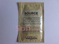 Пробник Source Essentielle шампунь Листя Акації і Есенція Алое,  для щоденного використання, для волосся всіх типів